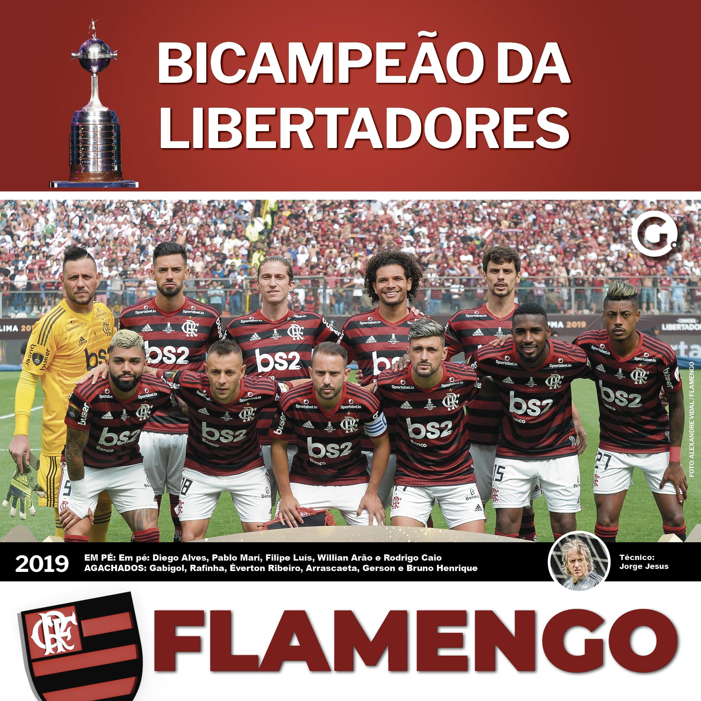 Pôster Do Flamengo Heptacampeão Brasileiro é Só Clicar E